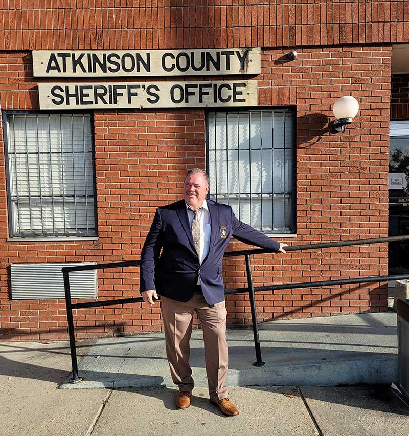 Atkinson County Sheriff David Moore
