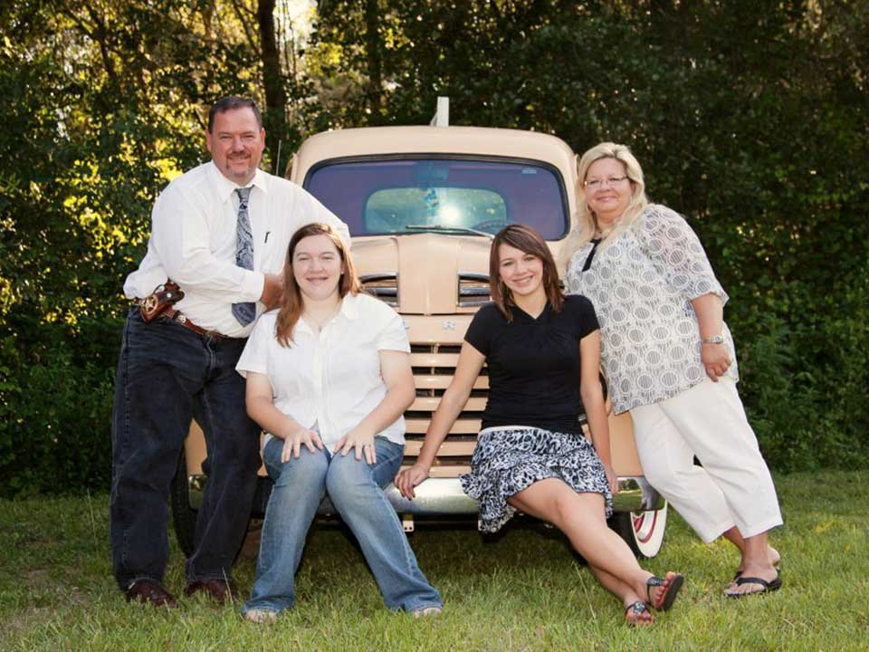 Sheriff Moore and family